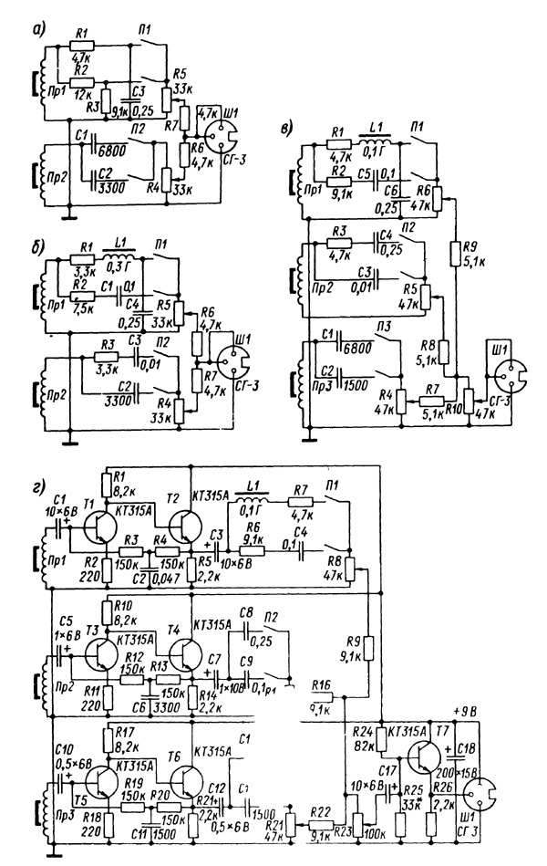 soviet pickups and wiring